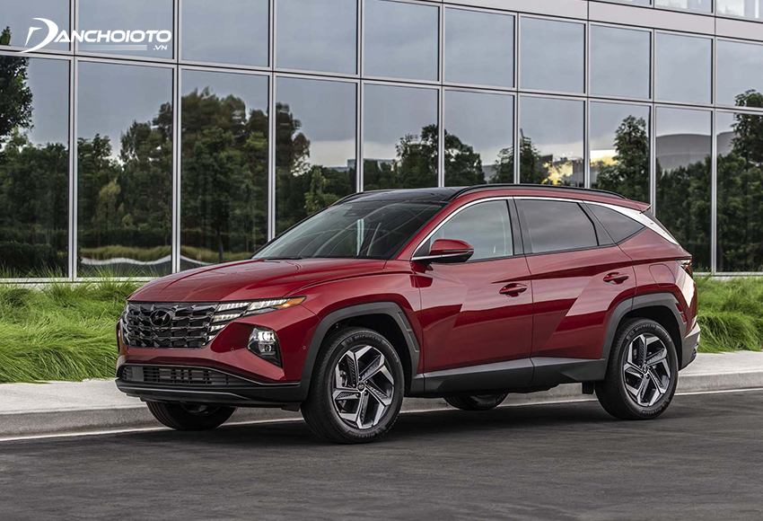 Hyundai Tucson là một gợi ý hay cho câu hỏi xe gia đình nên mua xe nào vừa rẻ, vừa rộng, vừa sang
