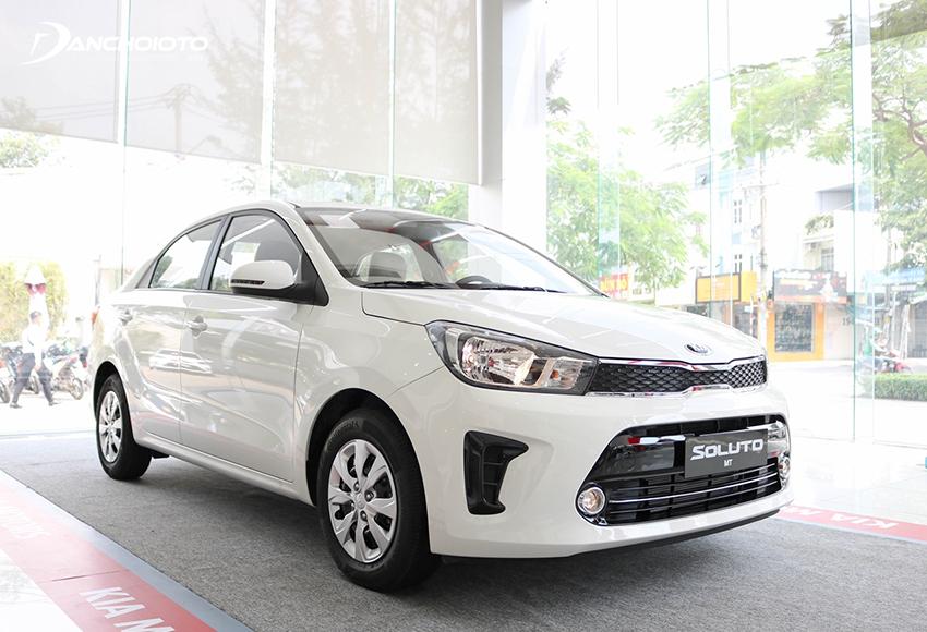 Kia Soluto MT là một mẫu xe ô tô 5 chỗ số sàn giá rẻ trong phân khúc hạng B đang rất được ưa chuộng