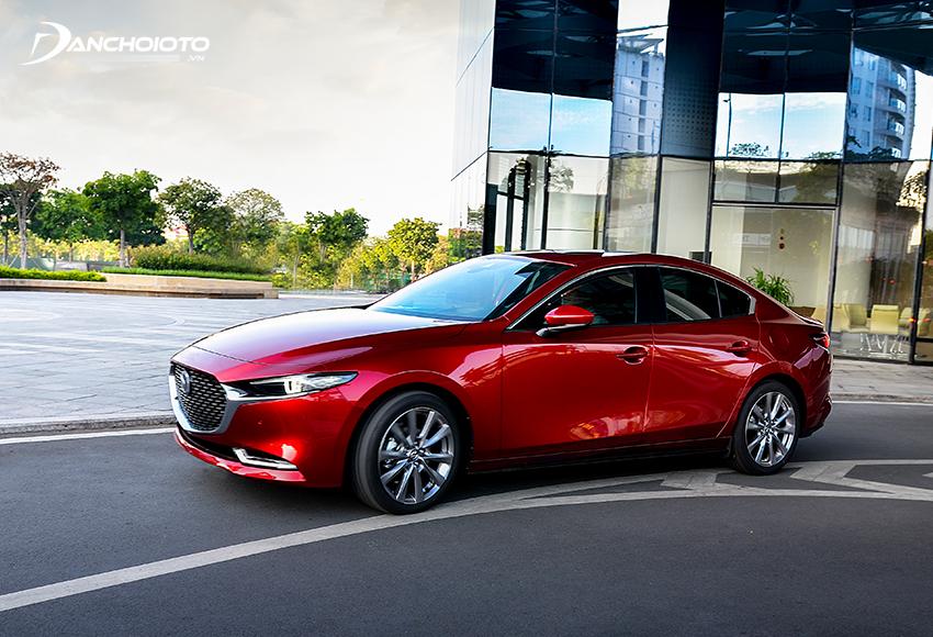 Mazda 3 là mẫu ô tô đứng đầu bản trong danh sách xe hạng C nào tiết kiệm xăng nhất