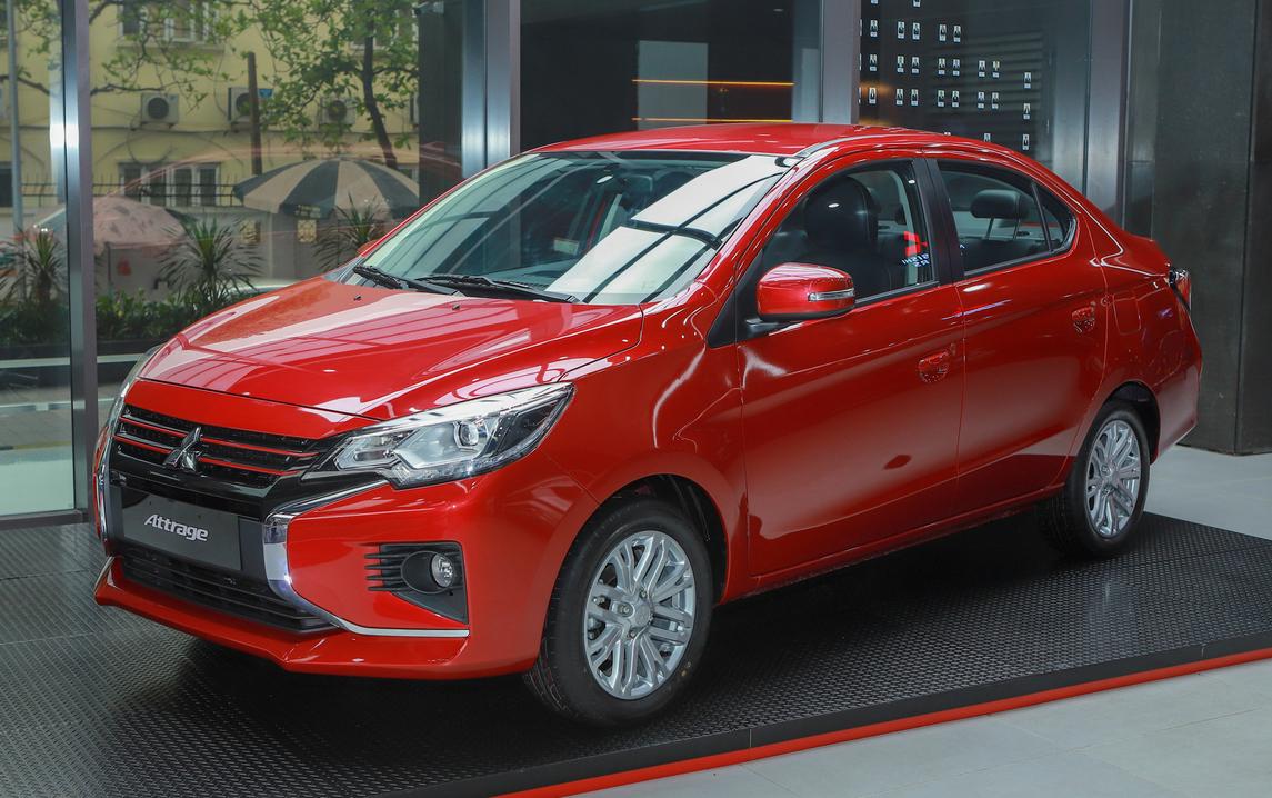 Mitsubishi Attrage có lợi thế giá bán mềm, động cơ 1.2L tiêu thụ nhiên liệu thấp