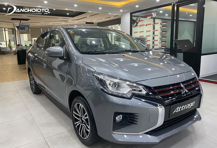 Mitsubishi Attrage MT là một gợi ý rất hợp với những ai đang cần tìm xe số sàn giá rẻ tiết kiệm xăng