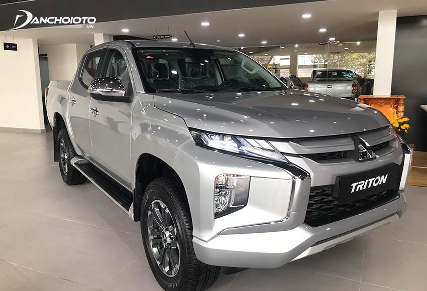 Mitsubishi Triton là mẫu xe bán tải giá rẻ đang được ưa chuộng