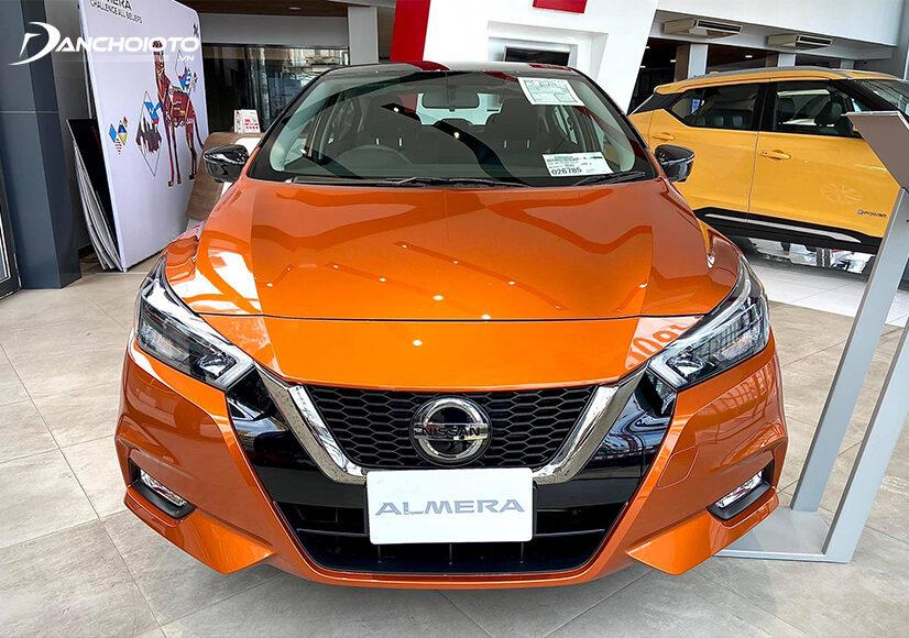 Nissan Almera 2021 có một ngoại hình mạnh mẽ, cơ bắp và thể thao