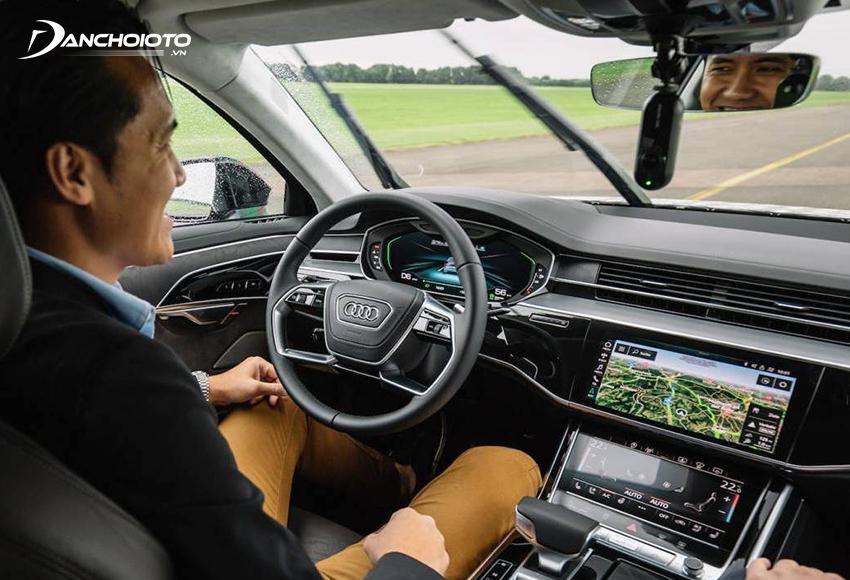 Ở cấp độ 3, xe có thể tự lái trong một số điều kiện vận hành nhất định
