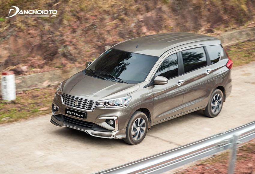 Suzuki Ertiga hiện là mẫu xe ô tô 7 chỗ tiết kiệm xăng nhất