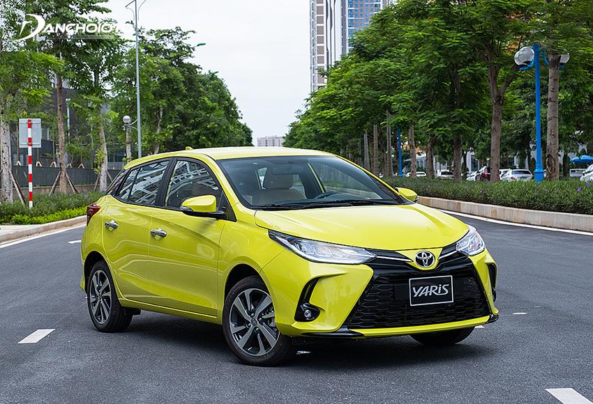 Toyota Yaris là một mẫu xe ô tô phù hợp cho gia đình