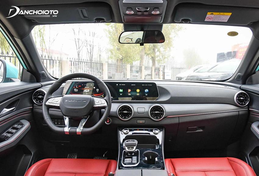 Trang bị hấp dẫn là một điểm mạnh khác của các mẫu xe ô tô Trung Quốc tại Việt Nam