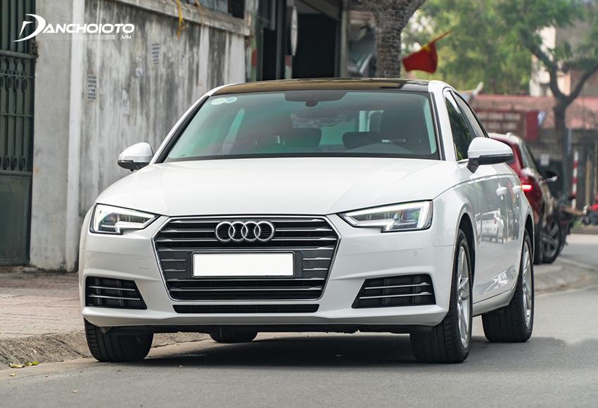 Audi A4 cũng là một cái tên nổi bật trong nhóm xe oto cũ giá 1 tỷ ở phân khúc hạng sang