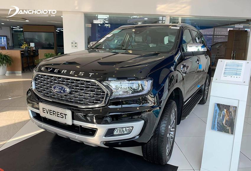 """Ford Everest là lựa chọn phù hợp nếu đang tìm ngân sách 1,5 tỷ nên mua xe 7 chỗ gì mạnh mẽ, nhiều """"đồ chơi"""""""