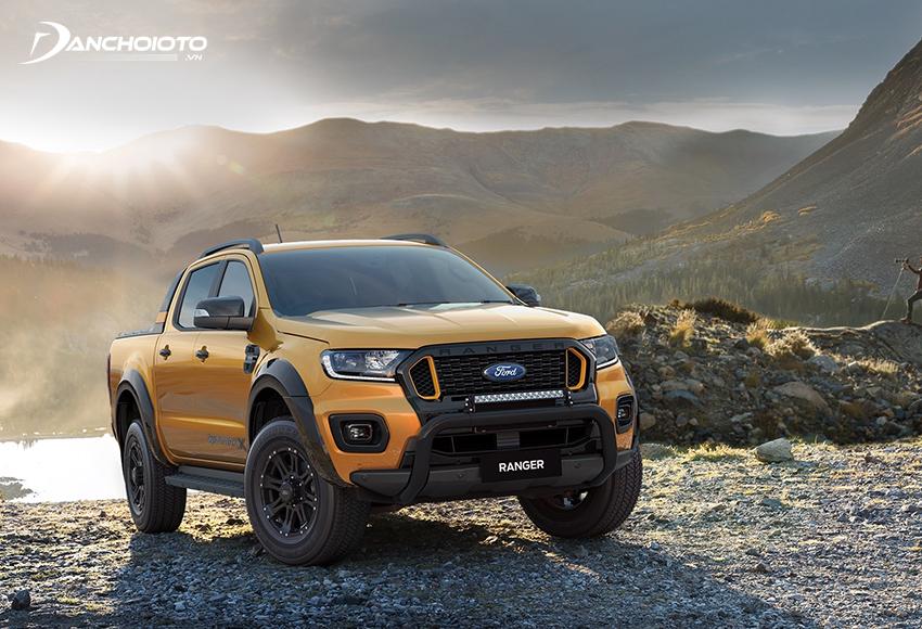 """Ford Ranger là mẫu xe bán tải """"ăn khách"""" nhất tại Việt Nam, thường xuyên chiếm hơn 60% thị phần của thị trường"""