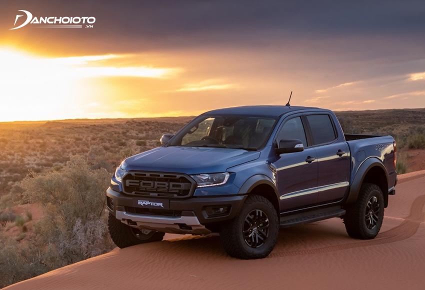 Ford Ranger Raptor là phiên bản hiệu suất cao của Ford Ranger