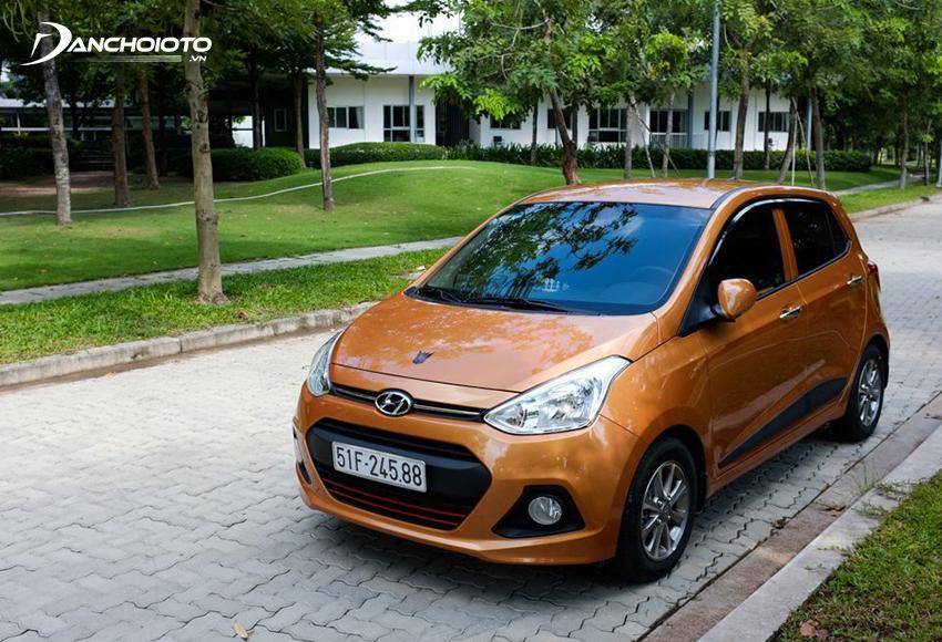 Hyundai Grand i10 là lựa chọn kinh tế với những ai đang tìm mua xe cũ tầm giá 200 triệu nhỏ gọn để đi lại hàng ngày hoặc chạy dịch vụ