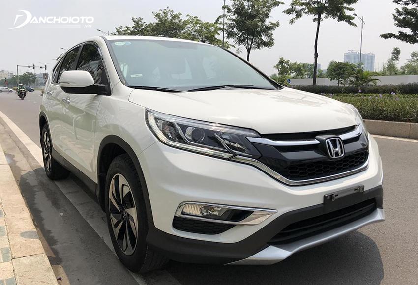 Khi nói đến 600 triệu nên mua xe SUV/CUV cũ nào tốt thì không thể bỏ qua Honda CR-V
