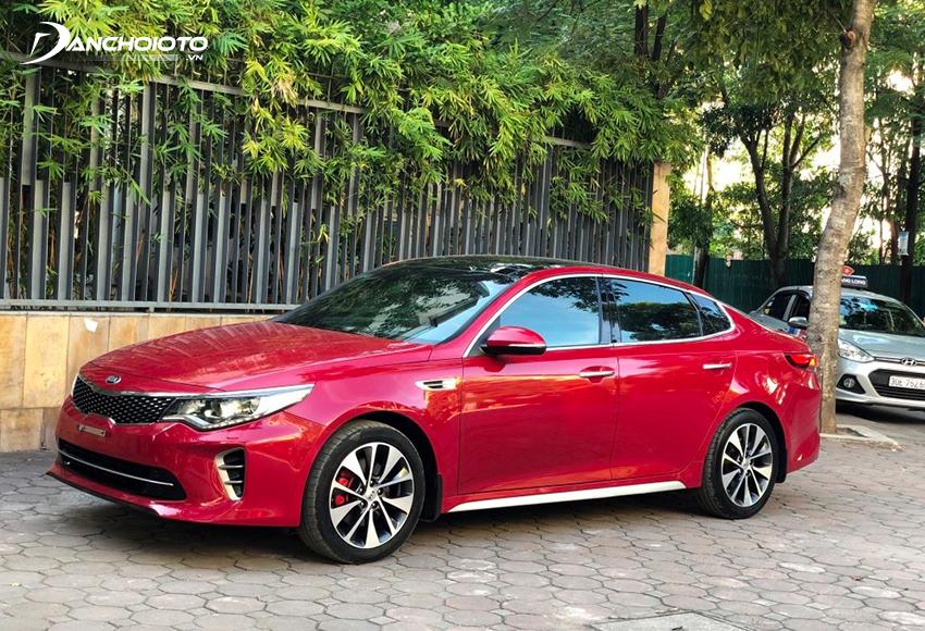 Kia Optima là một gợi ý hấp dẫn cho người mua xe ô tô cũ tầm 600 triệu đồng