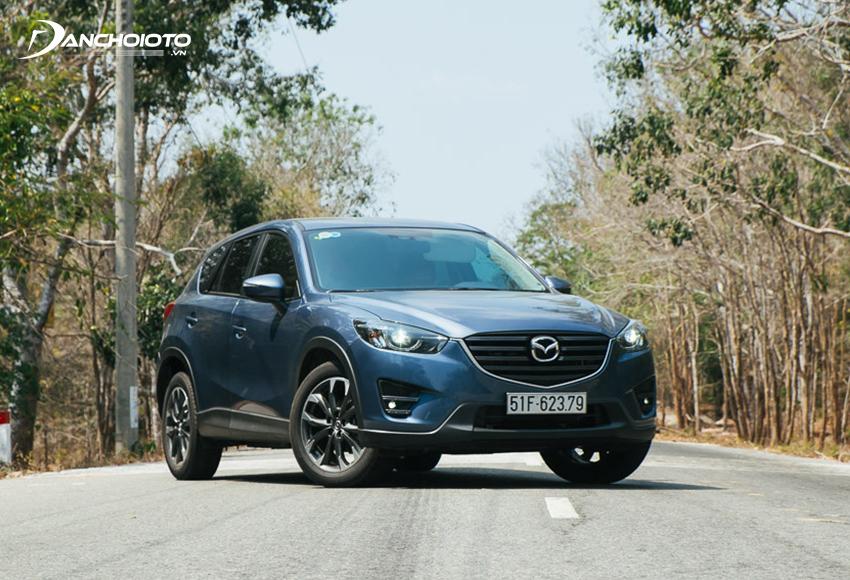 Mazda CX-5 là lựa chọn nổi bật trong các dòng xe 5 chỗ gầm cao cũ khoảng 600 triệu