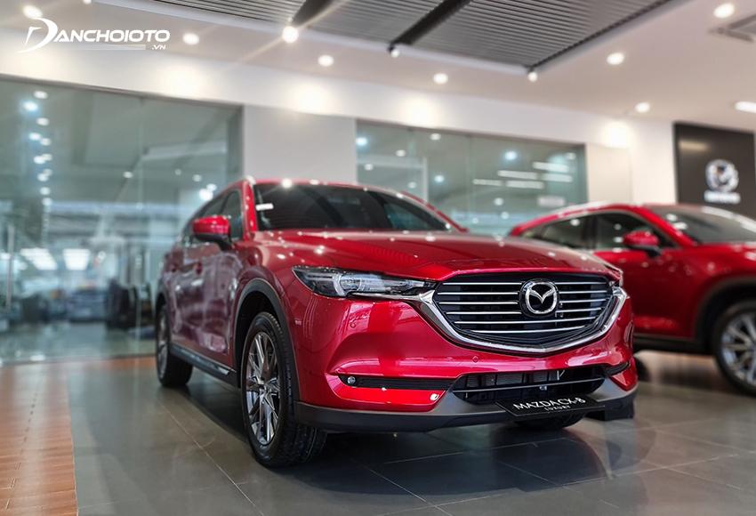 Mazda CX-8 là một mẫu ô tô đáng tiền dành cho những ai mua xe 7 chỗ tầm 1 – 1,2 tỷ quan tâm nhiều đến thiết kế và công nghệ