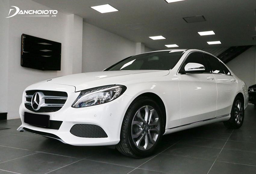 Mercedes Benz C-Class thực sự là gợi ý hấp dẫn nếu đang tìm mua xe Mercedes cũ dưới 1 tỷ đến tầm 1 tỷ đồng