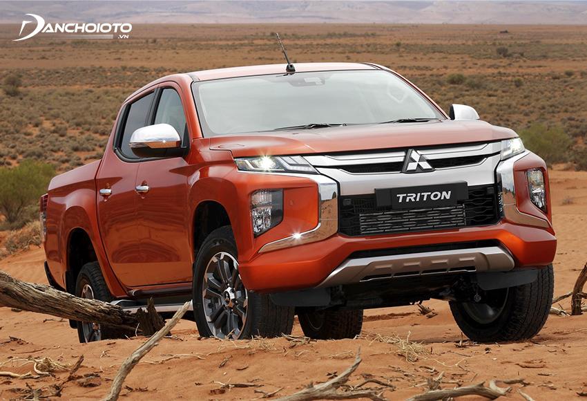 Mitsubishi Triton là một cái tên được đánh giá cao trong phân khúc bán tải Việt Nam