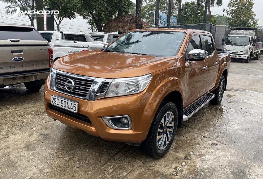 Mua xe bán tải cũ giá 400 triệu còn một lựa chọn đáng cân nhắc khác là Nissan Navara