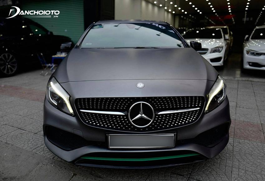 Nếu đang đắn đo 700 triệu nên mua xe cũ gì tốt ở phân khúc hạng sang thì Mercedes A-Class là gợi ý hàng đầu
