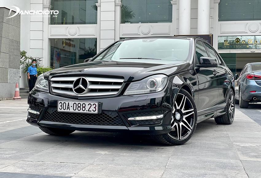 Nếu dự định mua xe cũ tầm 700 triệu ở phân khúc hạng sang châu Âu thì Mercedes C-Class cũng rất đáng tham khảo