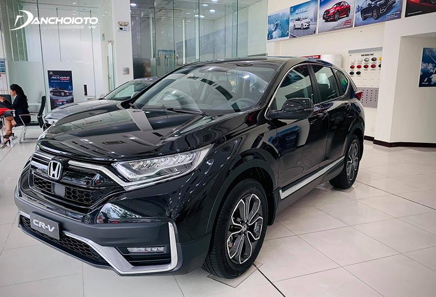 Nếu hỏi 1 tỷ mua xe 7 chỗ nào chất lượng, an toàn, đáng tin cậy thì Honda CR-V luôn là gợi ý hàng đầu
