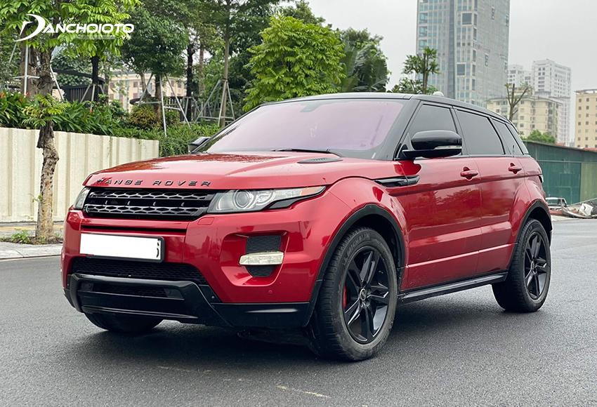 Range Rover Evoque Dynamic là gợi ý hấp dẫn trong các dòng SUV cũ tầm 1 tỷ đồng đang rao bán nhiều trên thị trường