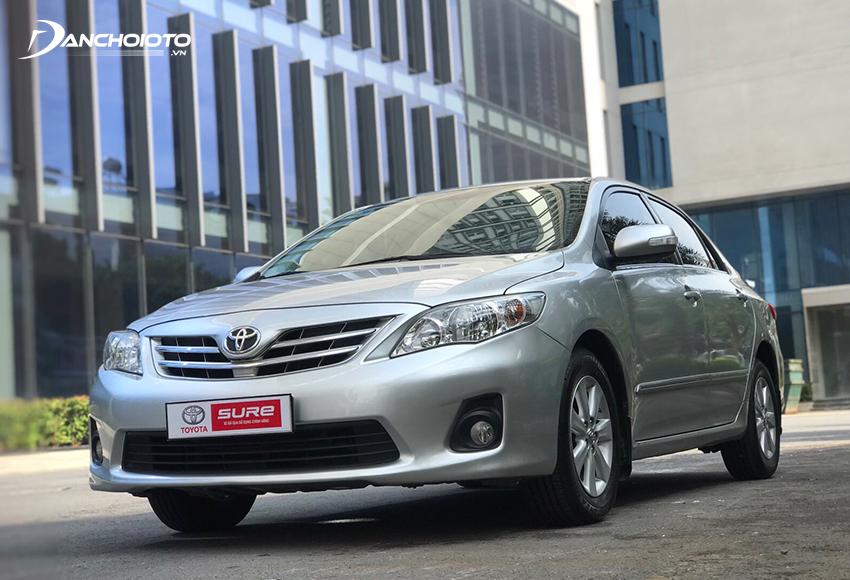 Toyota Vios cũ là một trong các lựa chọn nổi bật nhất trong các dòng ô tô cũ tầm 200 triệu