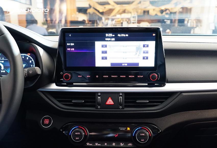Kia K3 2022 Premium được trang bị màn hình xe 10.25 inch – lớn nhất phân khúc